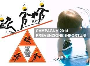 Campagna 2014 per la prevenzione di infortuni