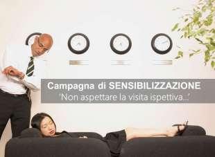 """Campagna di Sensibilizzazione """"NON aspettare la visita ispettiva"""""""