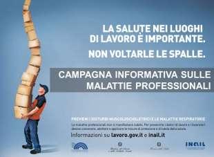 Campagna informativa di prevenzione sulle Malattie Professionali